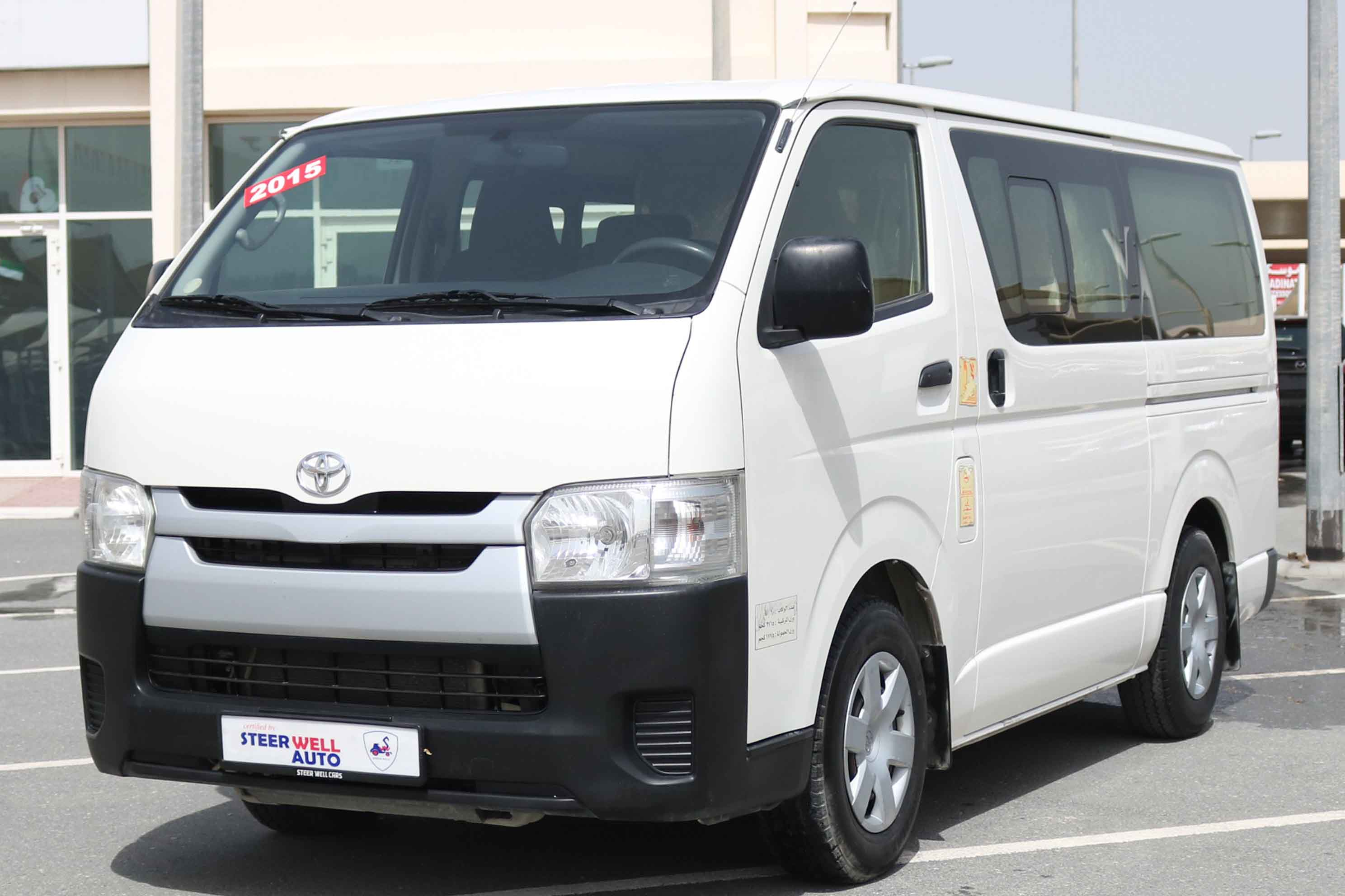 TOYOTA HIACE 6 SEATER
