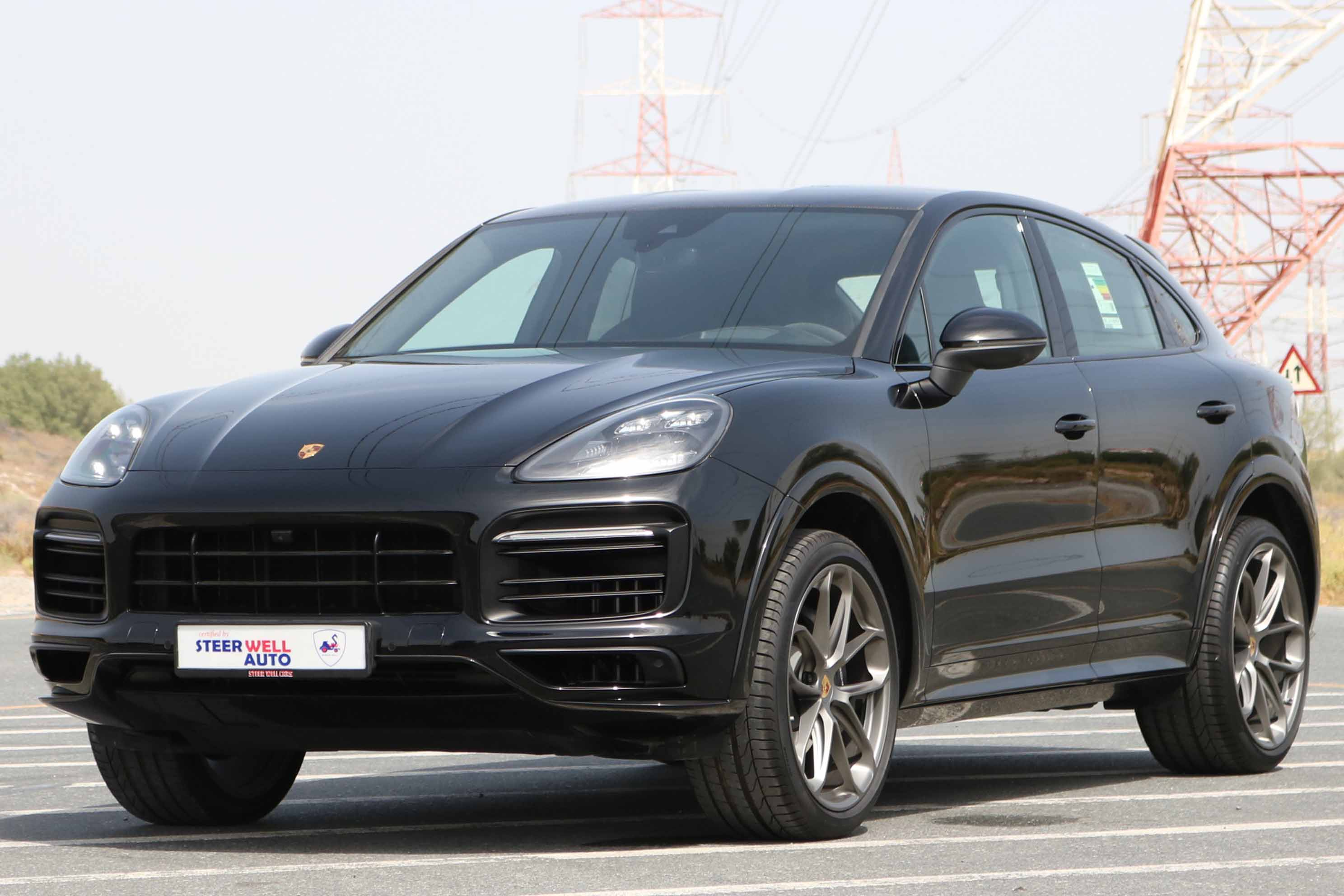 PORSCHE CAYENNE COUPE WITH SPORT KIT 2 YEARS WARRANTY
