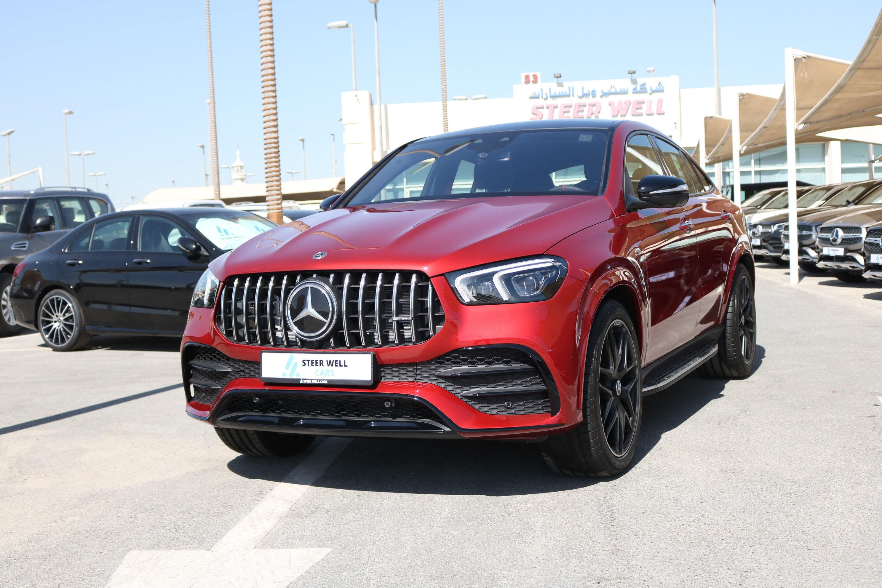 Mercedes-Benz AMG GLE 53 Coupe Turbo 4matic+