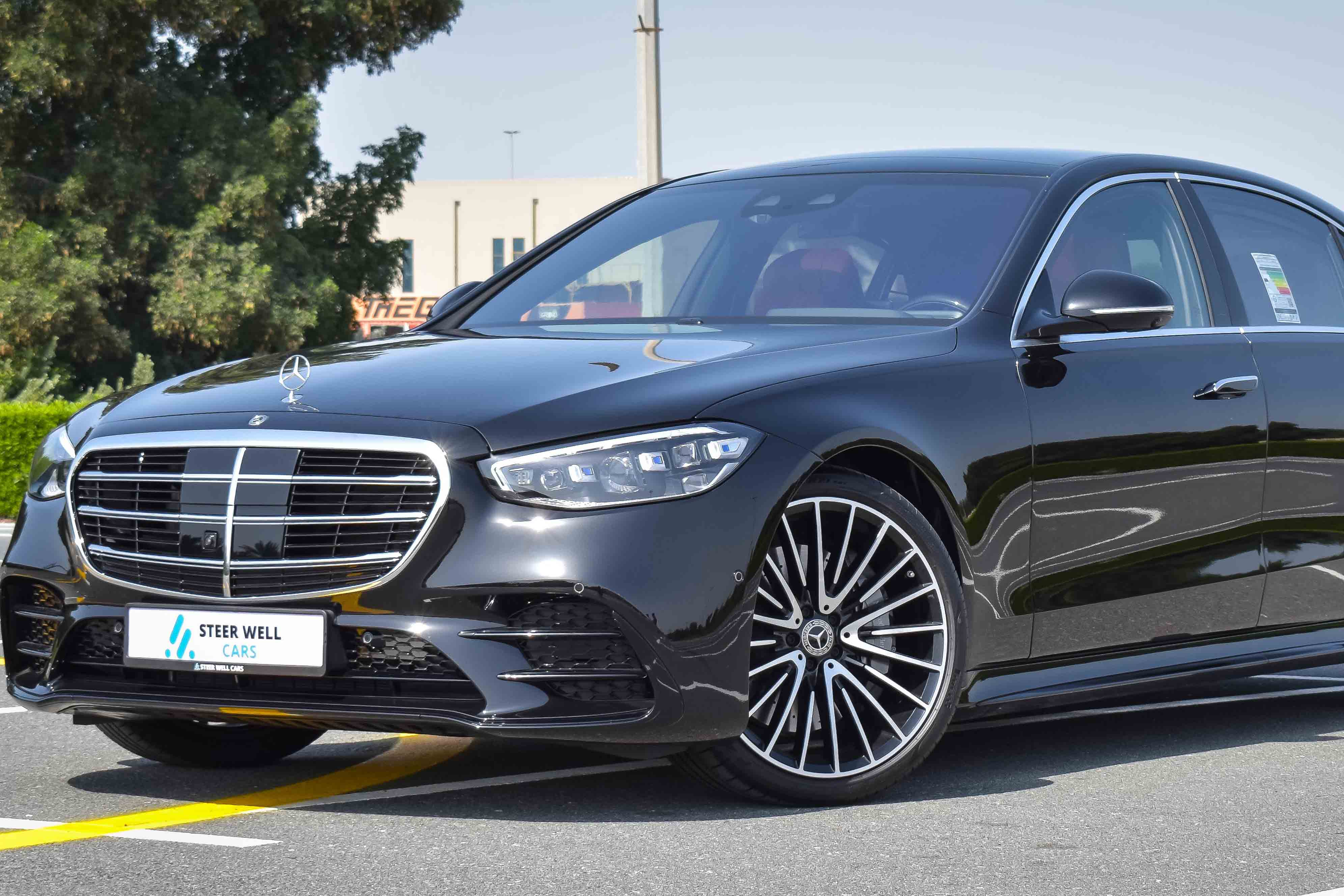 2021 MERCEDES S500 2021 4M AMG WITH GCC SPECS  5 YEARS WARRANTY AND SERVICE CONTRACT