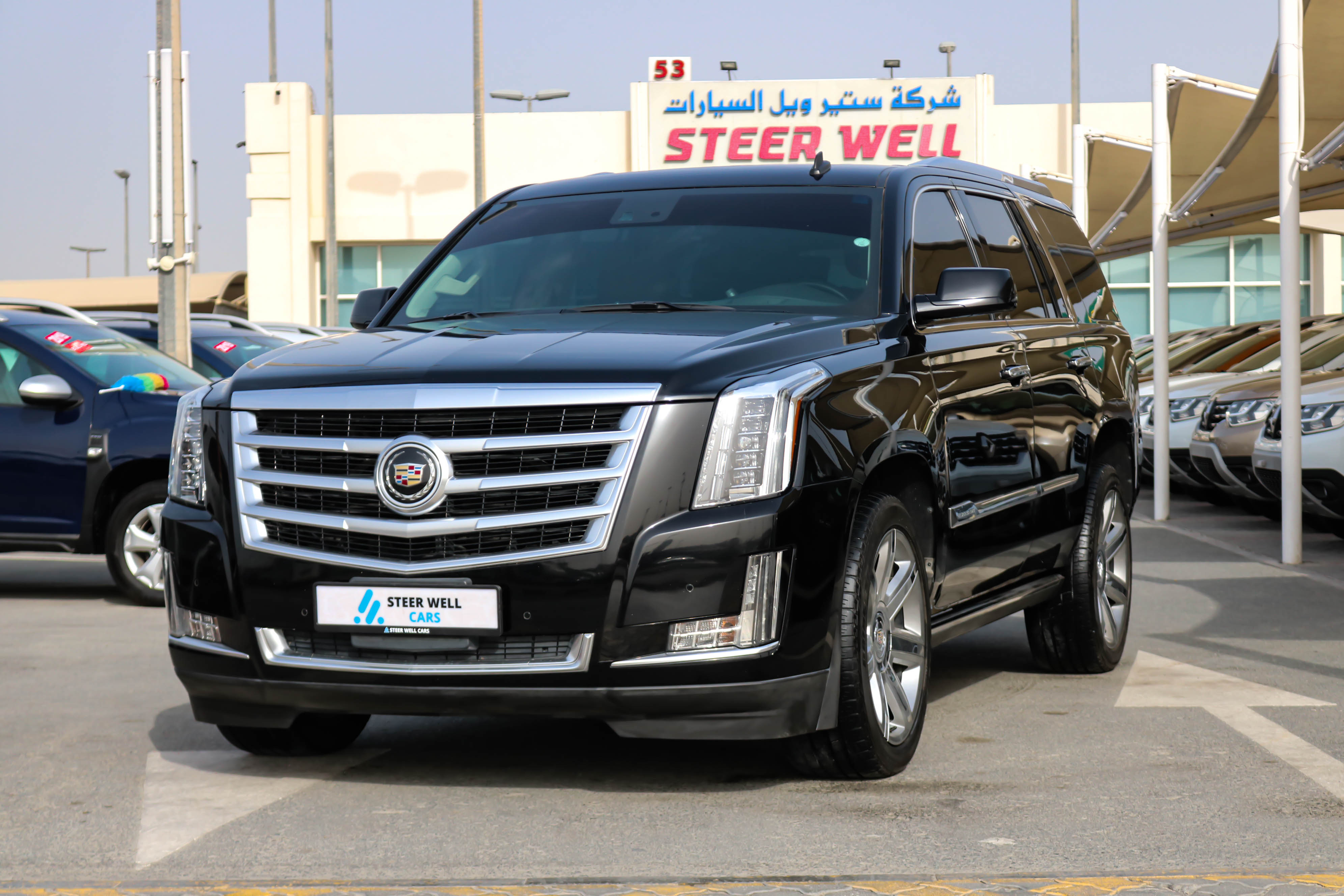 Cadillac Escalade GCC SPECS EXCELLENT CONDITION WITH FULL SERVICE HISTORY