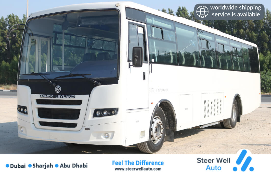 ASHOK LEYLAND FALCON 66 SEATER WITH AC BUS FOR SALE IN DUBAI