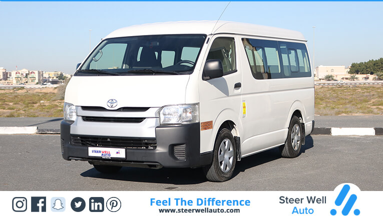 Toyota Hiace 14 Seater Mid Roof - 2015