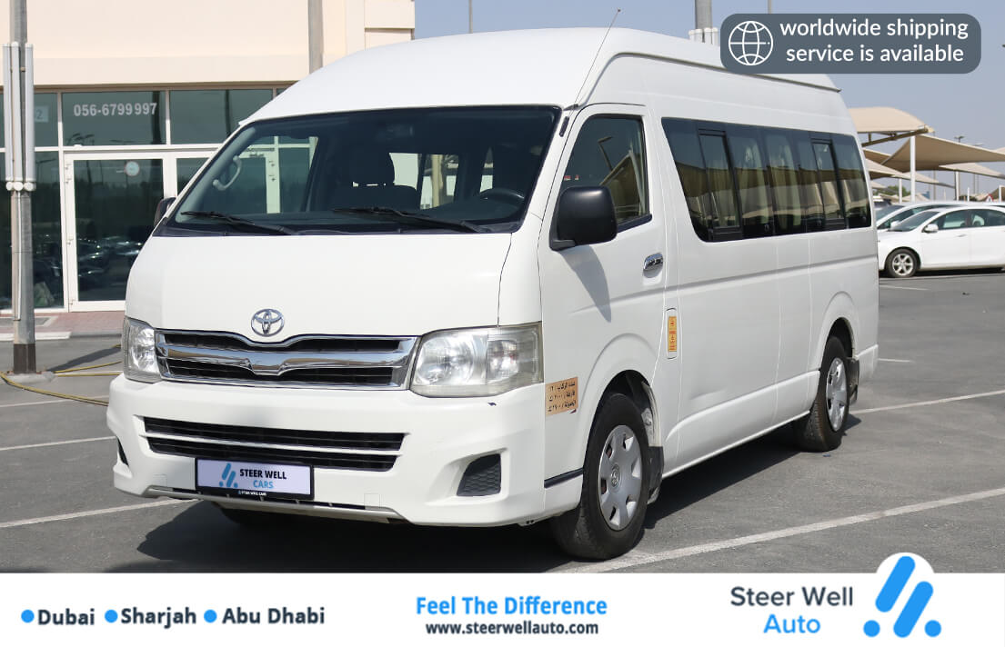 Toyota Hiace 15 Seater High Roof - 2013