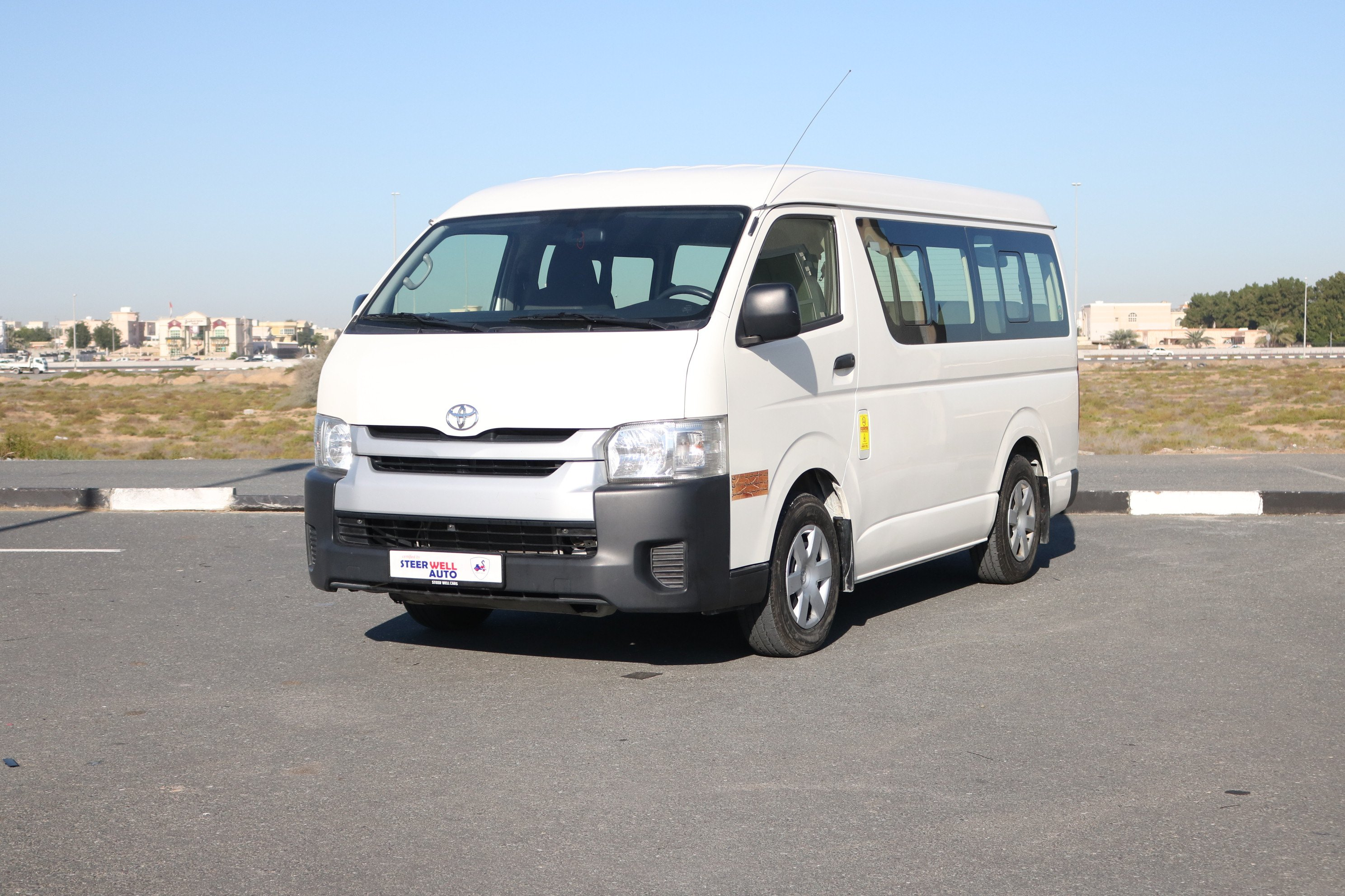 Toyota Hiace Mid Roof Passenger Bus