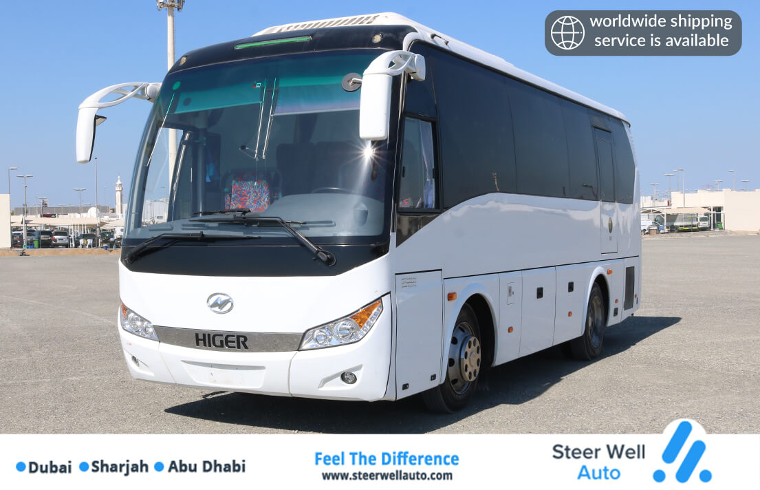 HIGER BUS WITH AC 35 SEATER 2019 BEST PRICE ((INSPECTED EXCELLENT CONDITION))