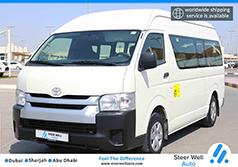2017 Toyota Hiace Hi Roof Passenger Bus
