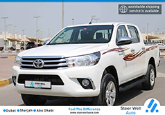 2018 TOYOTA HILUX 4X4 FULL OPTION DIESEL DUAL CABIN PICKUP