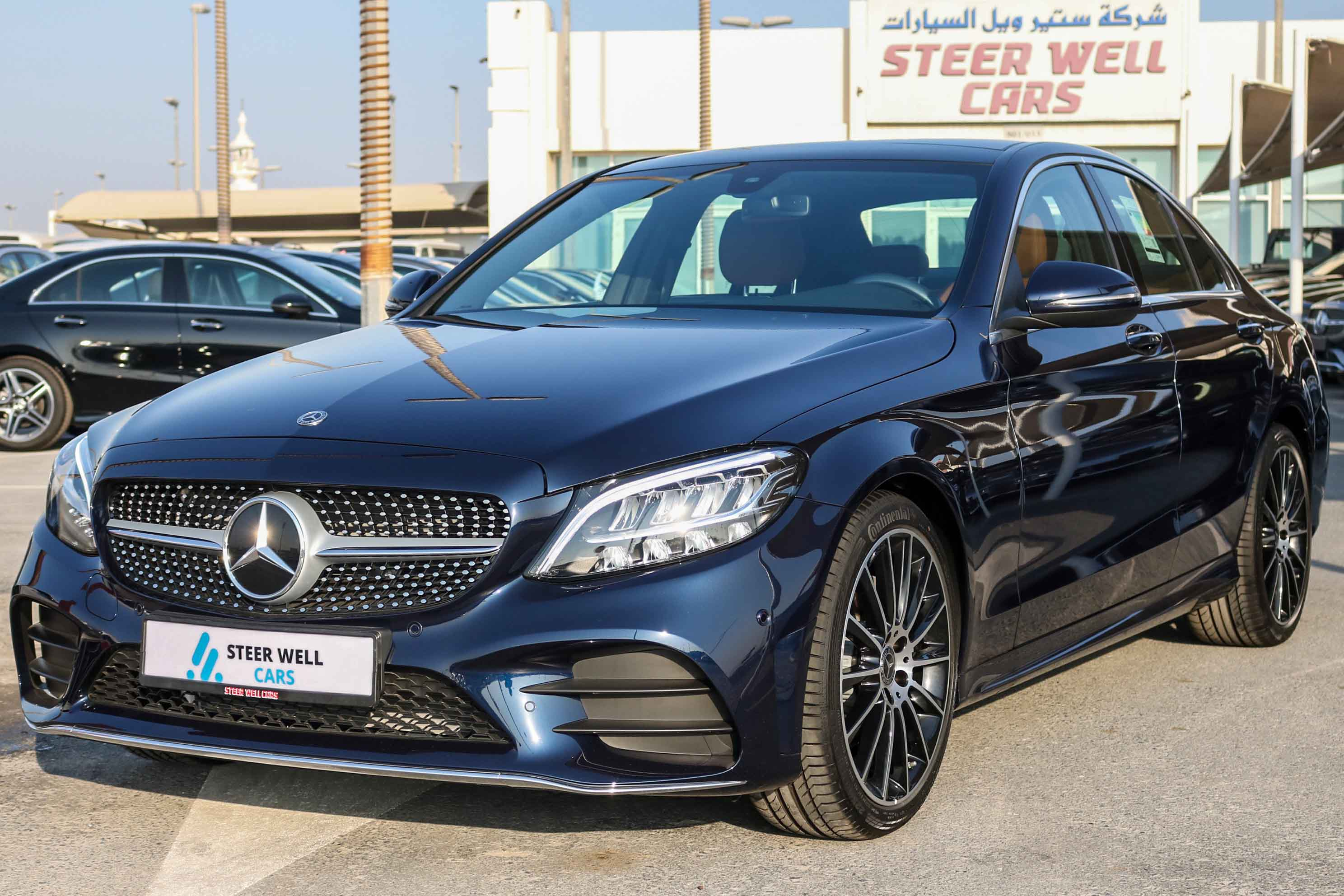 MERCEDES C 200 SEDAN 2020 WITH 2 YEARS WARRANTY