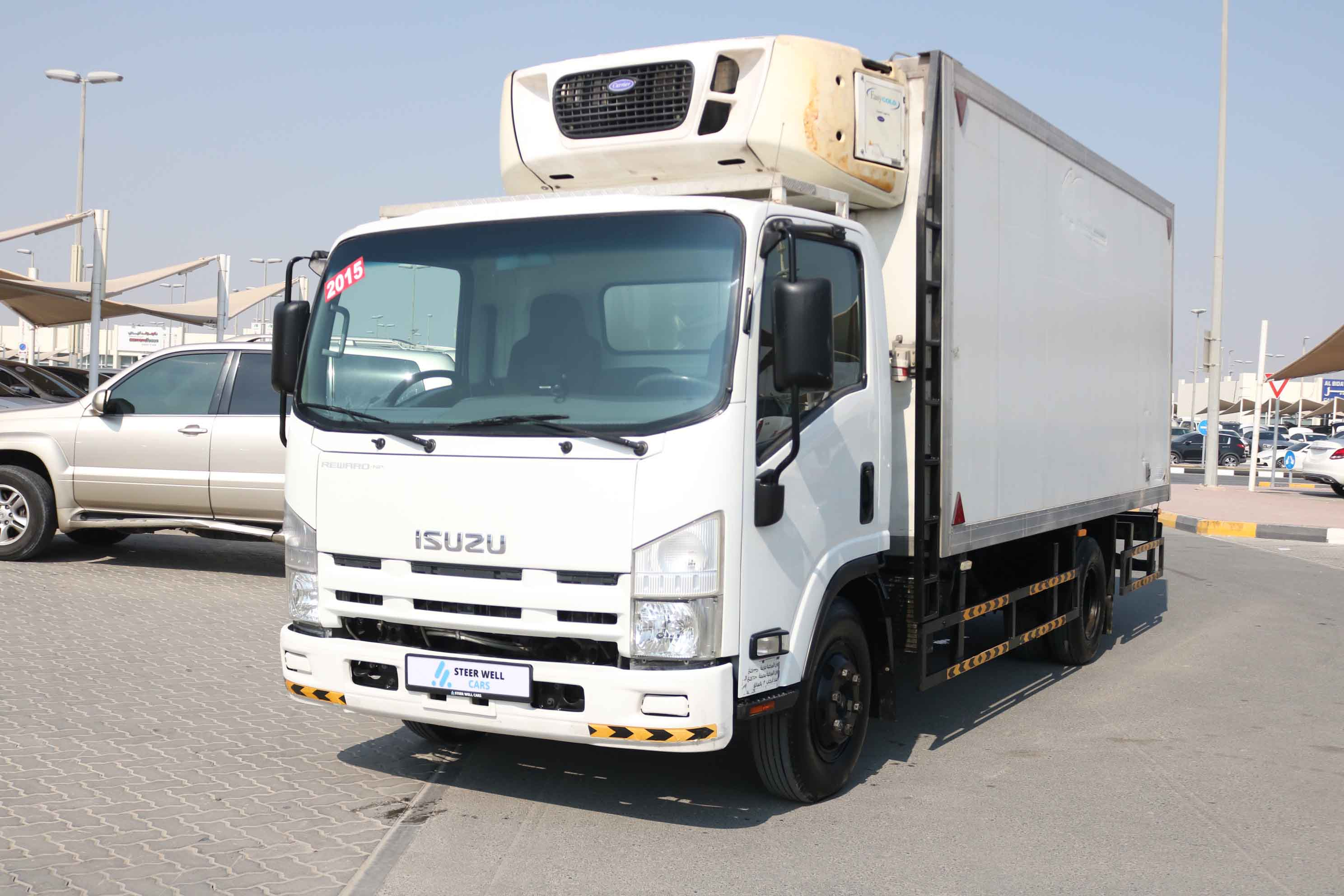 ISUZU NPR WITH CARRIER FREEZER