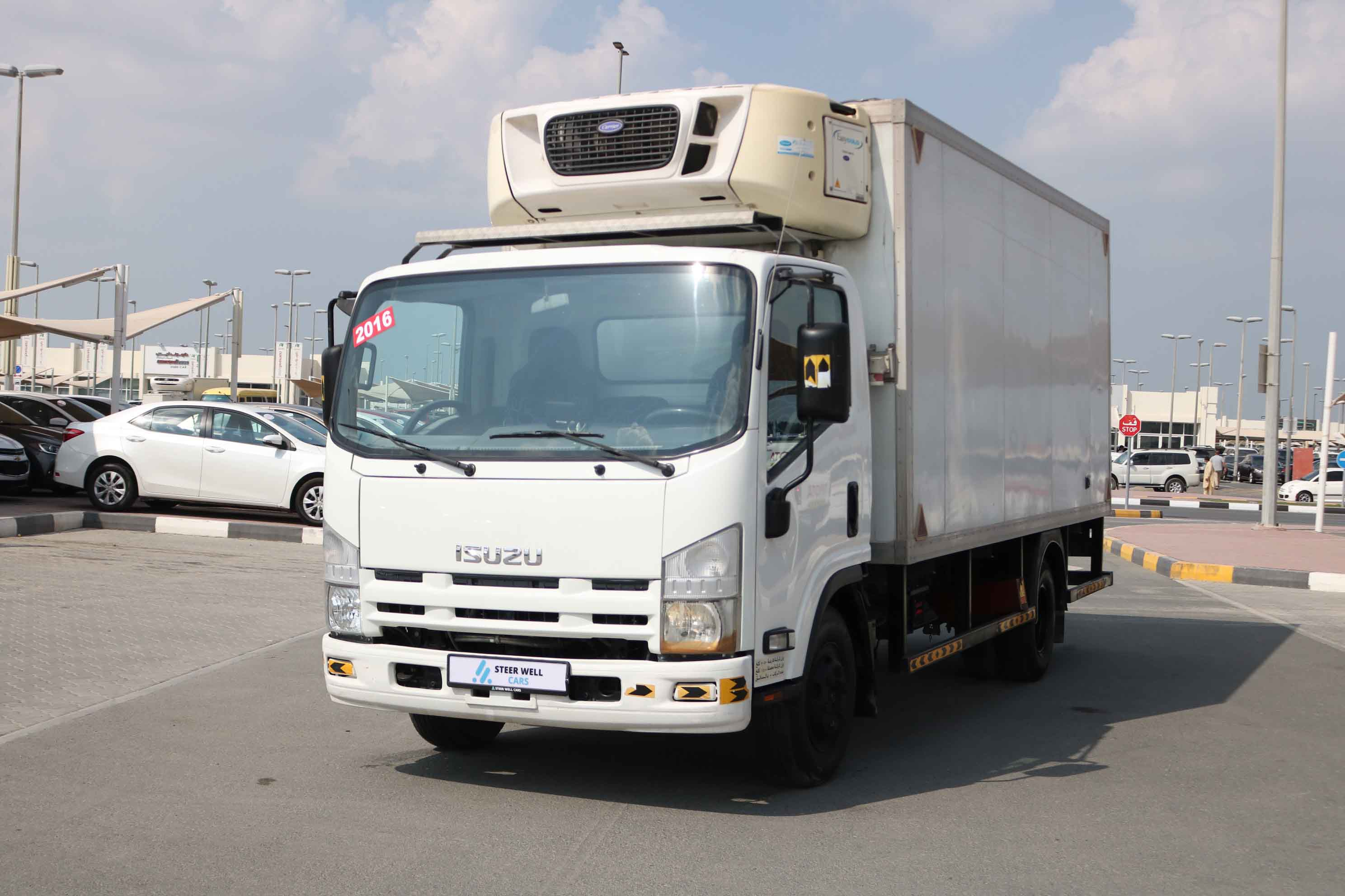 ISUZU NPR REFRIGERATED TRUCK