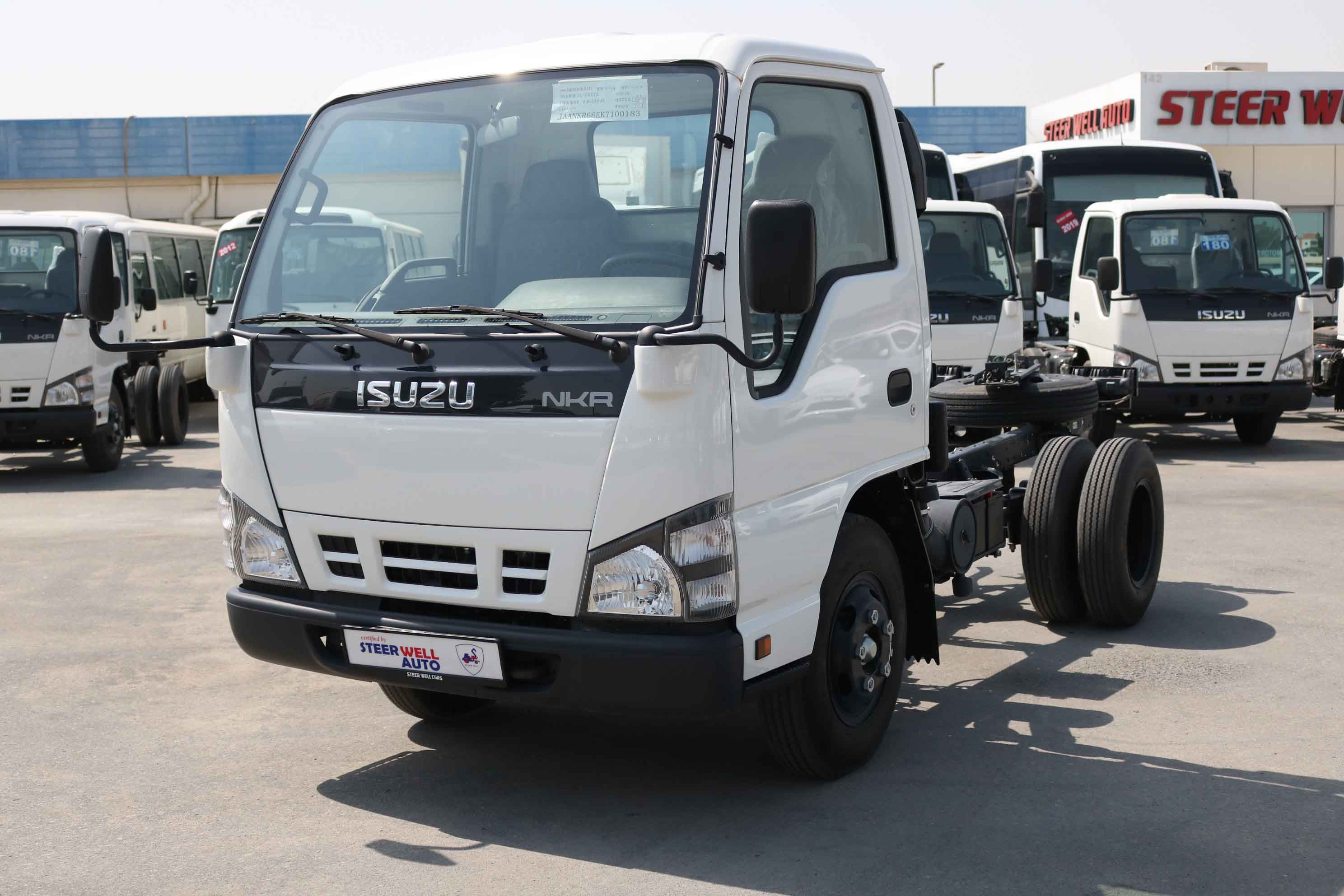 ISUZU NKR CHASSIS ONLY